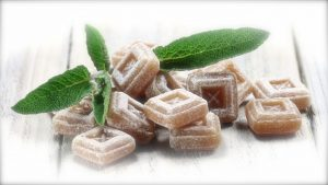 horehound lozenges to soothe sore and dry throats