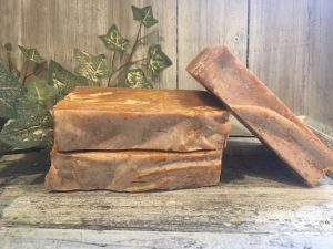 Cypress, tea tree, rosemary, ylang ylang & shea butter skin softening soap for a deeply cleansed and glowing complexion by Lion's Market by Ann
