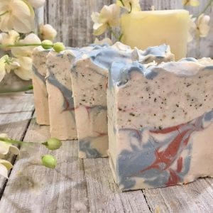 Black spruce and sage goat's milk soap by Lion's Market by Ann