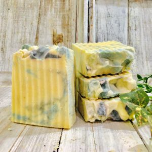 lilac goats milk soap by lions market by ann
