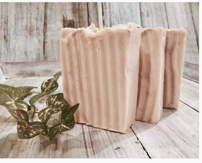 Sandalwood Goat's Milk soap by Lion's Market by Ann