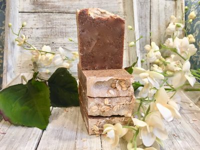 Fresh Banana and Vanilla Bean Goat's Milk Soap