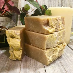Dark Beer and Hemp Seed Goat's Milk Shampoo Bar by Lion's Market by Ann