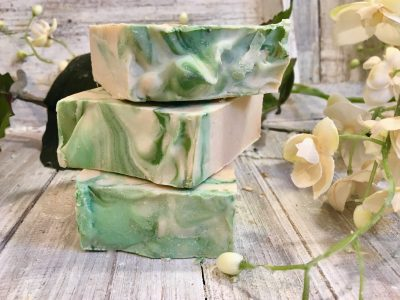 Coconut Lime and Ylang Ylang Goat's Milk Soap by Lion's Market by Ann