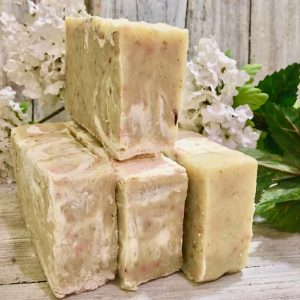 Spicy Lime and Nettles Goat's Milk Soap by Lion's Market by Ann